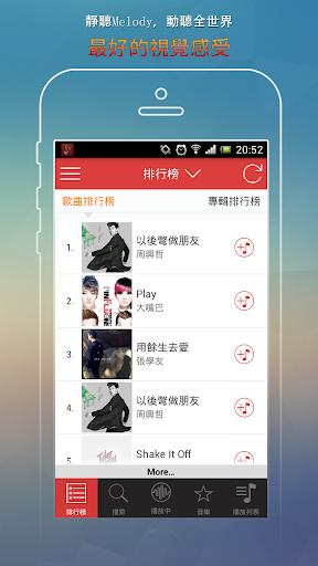 台灣免費音樂排行榜KKBOX--Enjoy Music