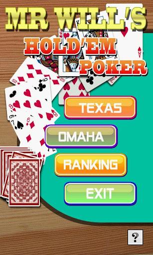 Mr.Will's Hold'em Poker