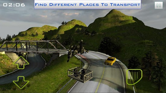Helicopter Transporter 3D- screenshot thumbnail