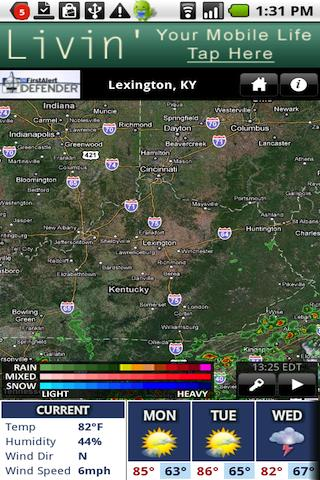 WKYT Radar - screenshot