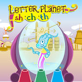 Letter planet: sh, ch, th