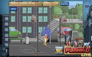 Screenshot of PLANK'D Lite