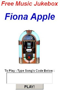 Fiona Apple Jukebox - screenshot thumbnail
