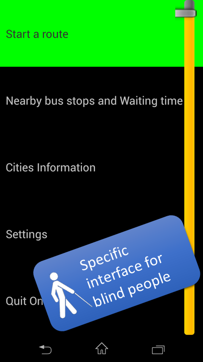 OnTheBus Public Transport - screenshot