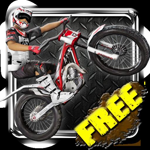 体育竞技のレーシング土のバイク3 LOGO-記事Game