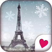 Cute wallpaper★Winter paris