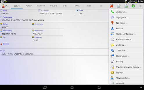 GoNet CRM DEMO- screenshot thumbnail