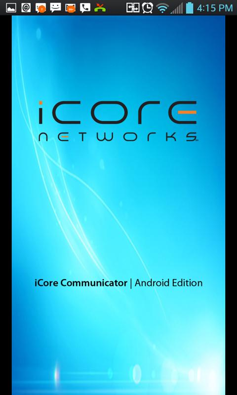 iCore Communicator for Phones - screenshot