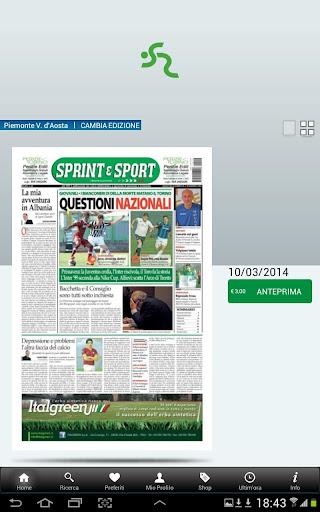【免費新聞App】Sprint e Sport Edicola-APP點子
