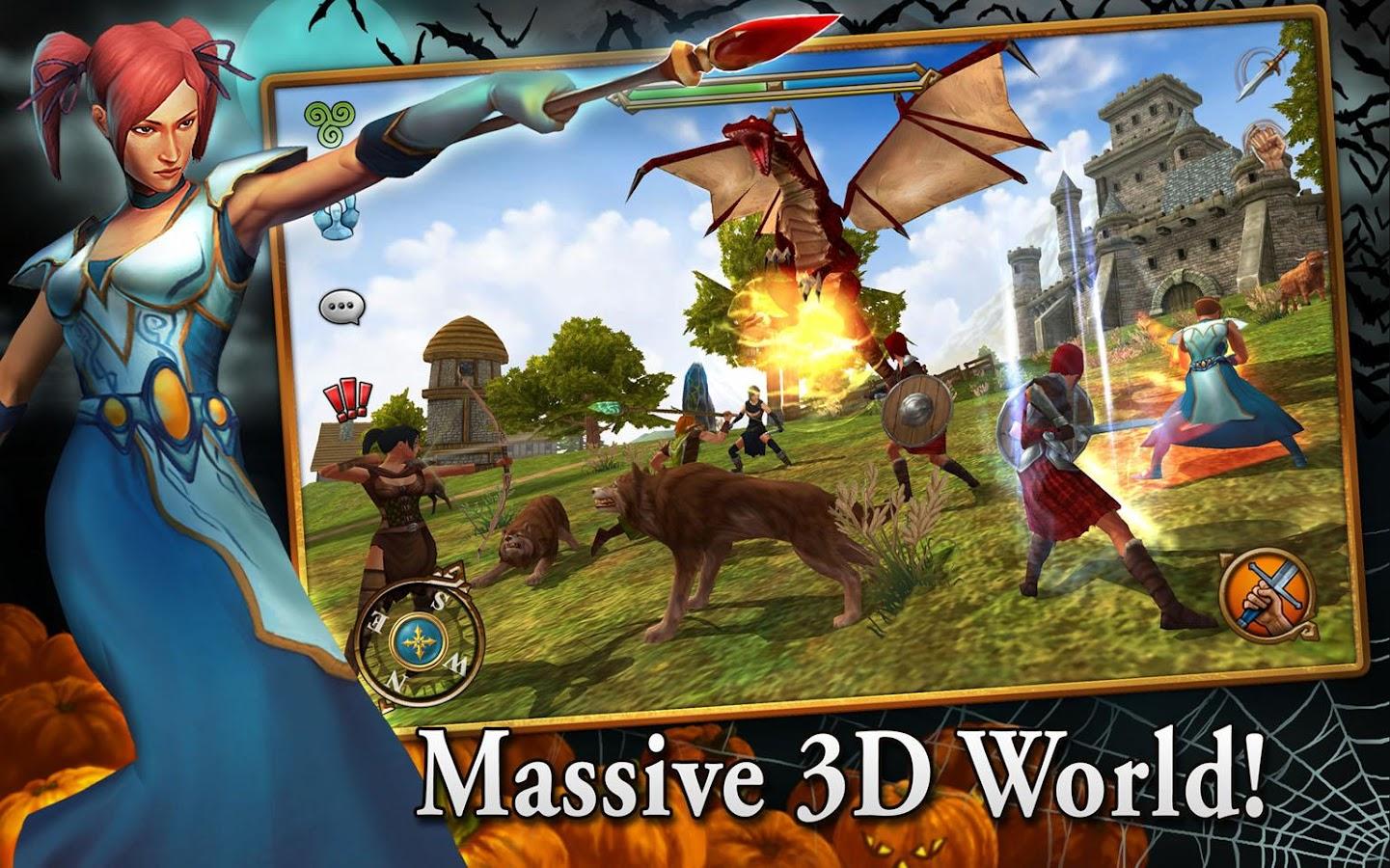 3D MMO Celtic Heroes - screenshot