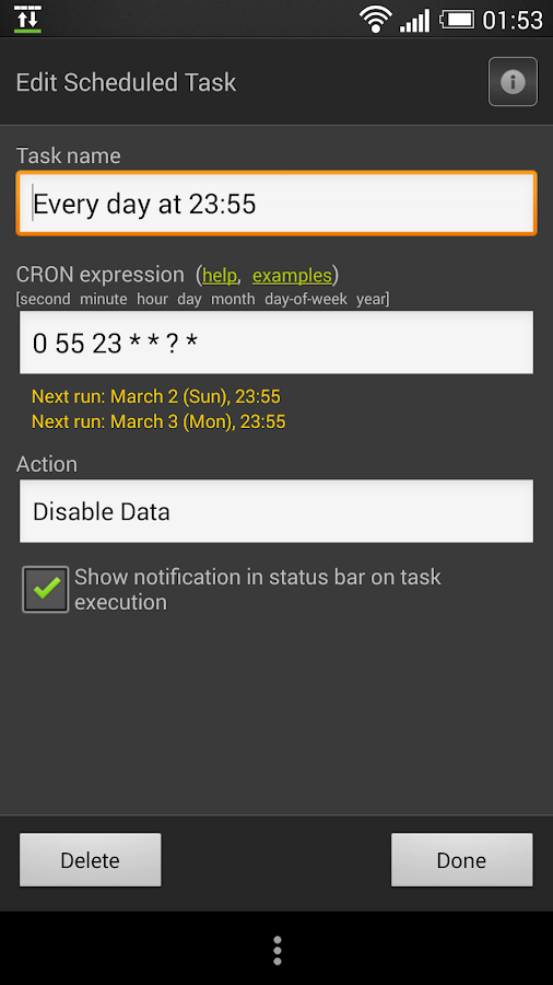 Data Lock Lite - screenshot