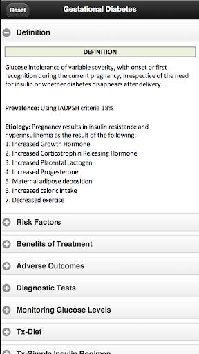 【免費教育App】Gestational Diabetes-APP點子