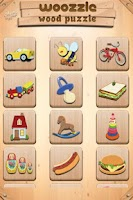 Screenshot of Toddlers Puzzle Woozzle