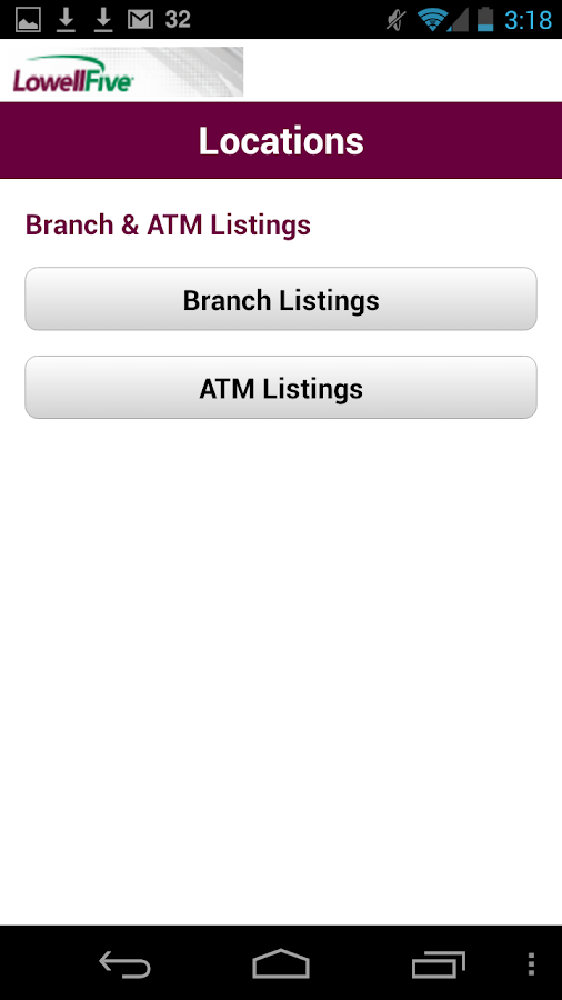 The Lowell Five Mobile Banking- screenshot