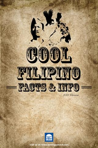 Cool Filipino Facts & Info - screenshot