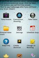 Screenshot of Hidden Camera & Silent Camera