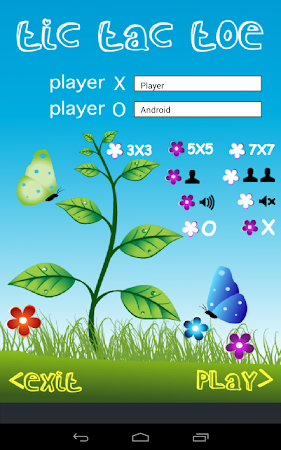 Tic Tac Toe in Blue Sky 7.0 screenshot 1723743
