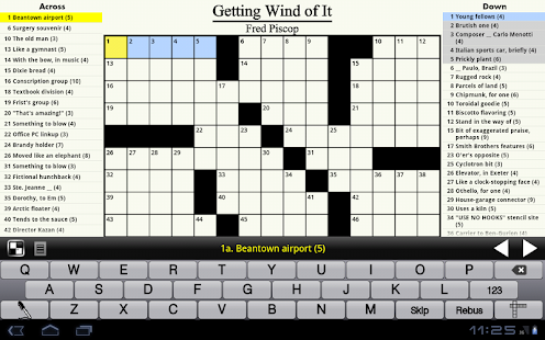 Crosswords - screenshot thumbnail