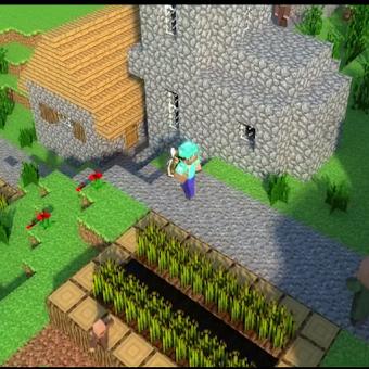 Beautiful World - Minecraft