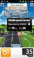 Screenshot of Speed Cams Wikango HD v4.3.2