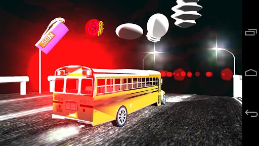 Toddler School Bus Kids Toy 3D