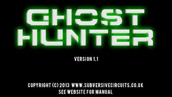 Screenshot of Ghost Hunter 1.1