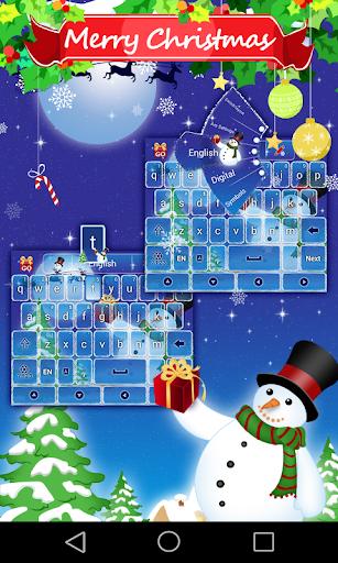 Snowman GO Keyboard Theme