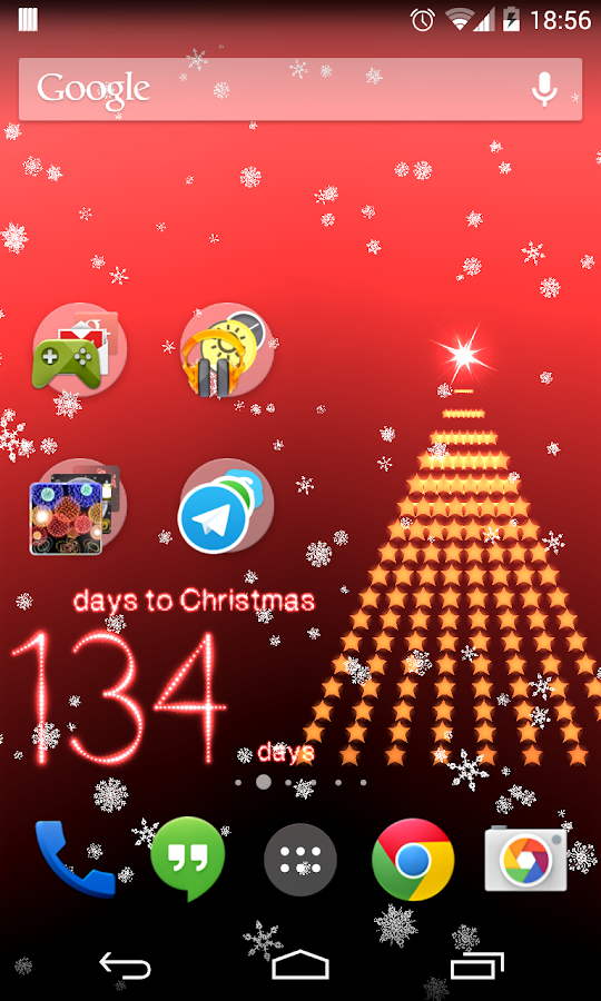 Christmas Countdown 2015 - screenshot