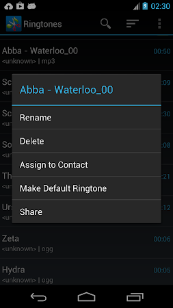 ZeoRing  - Ringtone Editor 1.4.2 screenshot 205578