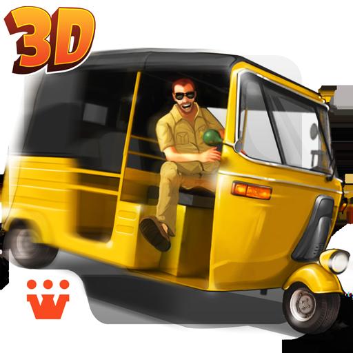 Crazy Auto Traffic Racer Icon