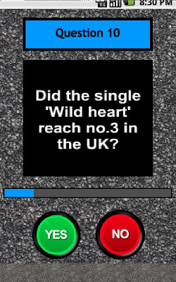 The Vamps Quiz - screenshot