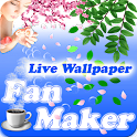 Fan Maker Live Wallpaper icon