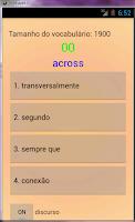 Screenshot of Falantes de português Inglês