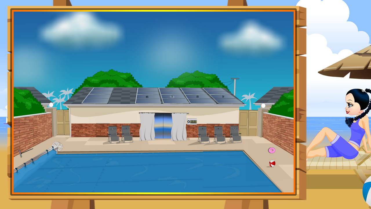 Pool Resort Escape- screenshot