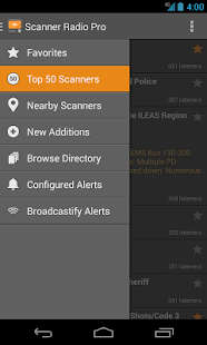 Scanner Radio Pro - screenshot thumbnail