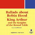 Ballads about Robin Hood logo
