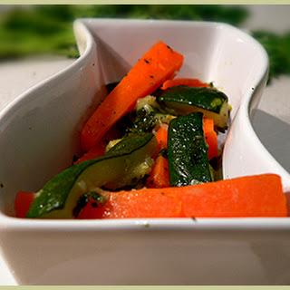 Méli-mélo de carottes et courgettes – Carrot Zucchini Vegetable Stew