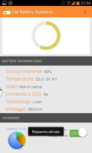 Lite Battery Statistics