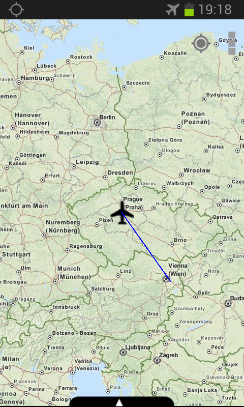 Flight Map- screenshot