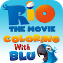 Rio: Coloring with Blu logo