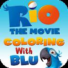 Rio: Coloring with Blu icon
