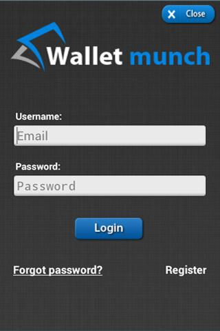 Wallet munch - screenshot