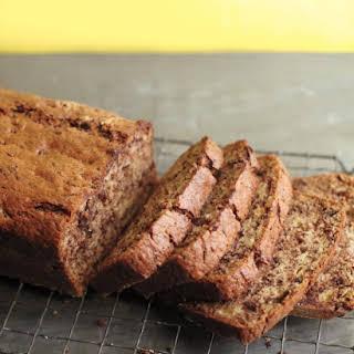 Banana-Chocolate Bread.