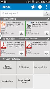 Cisco Partner Education - mPEC - screenshot thumbnail