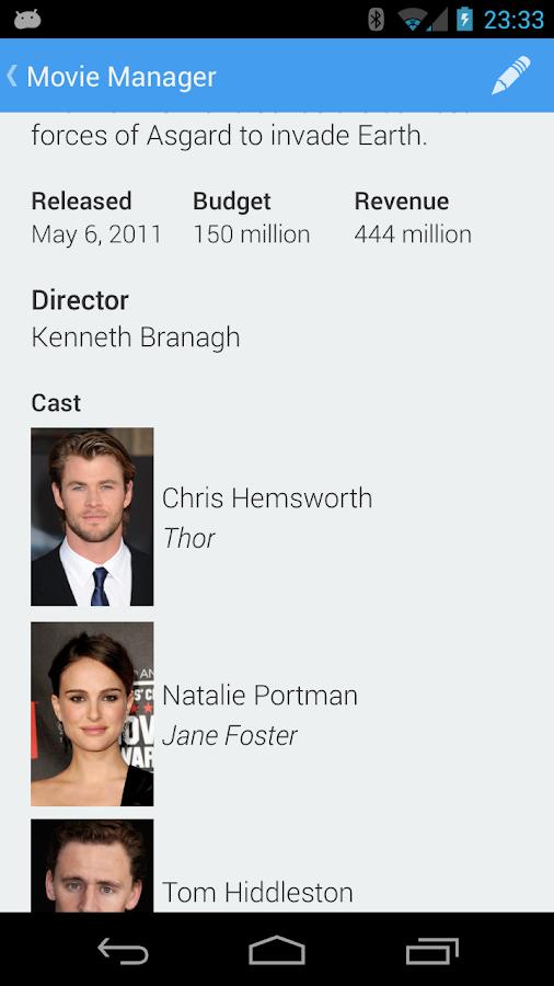 Movie Manager- screenshot