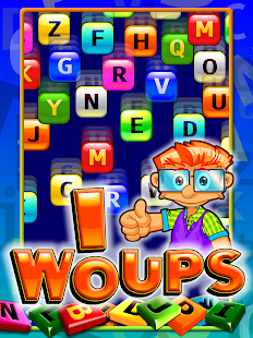 WoUPs it's raining words- screenshot thumbnail
