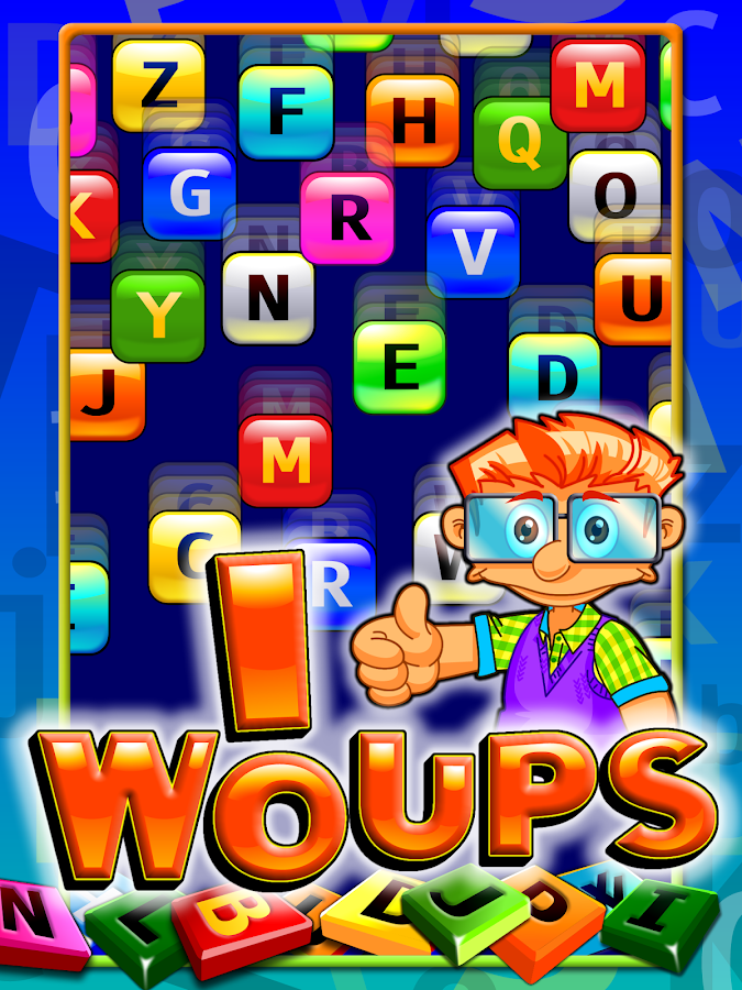 WoUPs it's raining words- screenshot