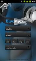 Screenshot of BlueMuze