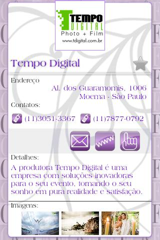 Guia Casal e Festas Mobile - screenshot