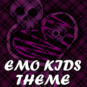 Emo Kids Go Launcher Ex Theme